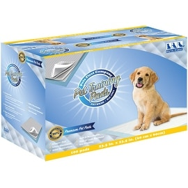 Pets First Premium Training Pads 2016 Version - MOST ABSORBENT