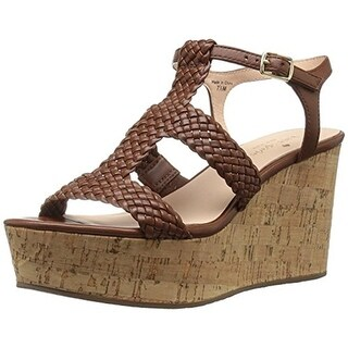 Kate Spade Womens Tianna Wedge Sandals Leather Cork