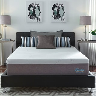 Slumber Solutions 14-inch Gel Memory Foam Choose Your Comfort Mattress - White