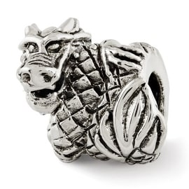 Sterling Silver Reflections Dragon Bead (4mm Diameter Hole)