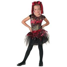 Spunky Spitfire Costume, Girls 8-10