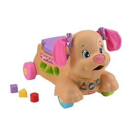 Fisher-Price Laugh and Learn Puppy Sis Stride-to-Ride