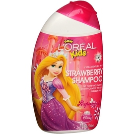 L'Oreal Kids Extra Gentle 2-in-1 Shampoo, Rapunzel/Strawberry 9 oz