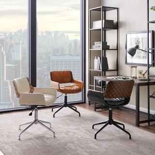 Carbon Loft Nasim Height-adjustable Swivel Accent Home Office Desk Chair