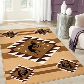 """Allstar Berber Woven High Quality Rug. Traditional. Persian. Flower. Western. Design Area Rugs (3' 9"""" x 5' 1"""")"""