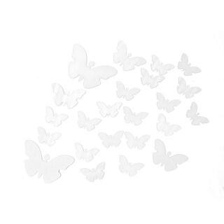 Butterfl Mirror Effect Living Room 3D Wall Decor Sticker