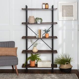 Carbon Loft Edelman 68-inch Urban Pipe Bookshelf
