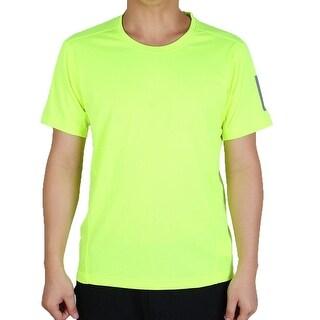 Men Short Sleeve Clothes Casual Wear Tee Cycling Biking Sports T-shirt Green XL