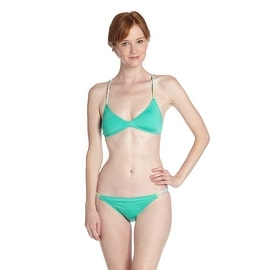 Odina Surf Boho Surf Bikini Top in Mint