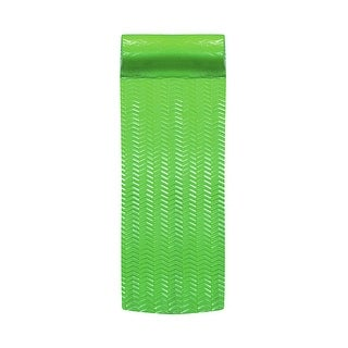 Inflatable Lime Green Floating Swimming Pool Mattress, 72-Inch