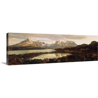 """Torres del Paine National Park Chile"" Canvas Wall Art"