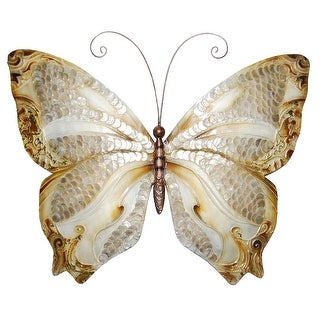 Handmade Butterfly with Pearl Scales Decor (Philippines)
