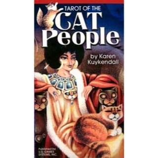 Cat People tarot deck by Karen Kuykendall