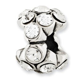 Sterling Silver Reflections Swarovski Elements Bead