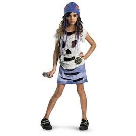 Grunge Spirit Girls Halloween Costume Size M (7-8)