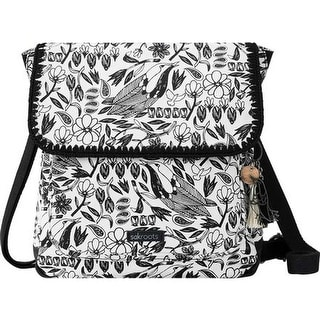 Sakroots Women's Artist Circle Convertible Backpack Black Peace Birds - US Women's One Size (Size None)