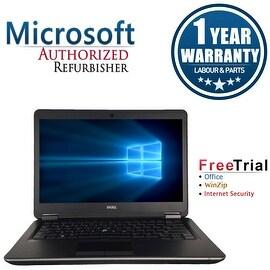 Refurbished Dell Latitude E7440 14'' Laptop Intel Core i5-4300U 1.9G 8G DDR3 500G Win 10 Pro 1 Year Warranty