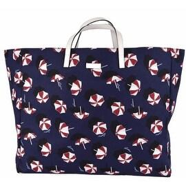 NEW Gucci 286198 XL Canvas Umbrella Parasol Print Carry All Purse Handbag Tote