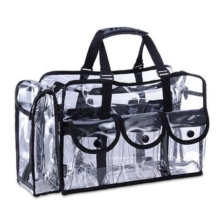 KIOTA Makeup Artist Clear Cosmetic & Beauty Storage Set Bag Organizer