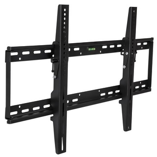 Mount-It! Low Profile Tilting Black TV Wall Mount Bracket