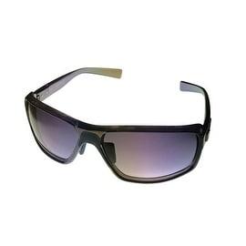 Kenneth Cole Reaction Plastic Sunglass Graphite / Gradient Smoke Lens KC1224 20B