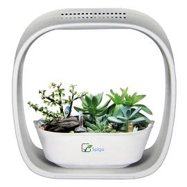 Spigo Indoor LED Light Grow Garden, Pearl White