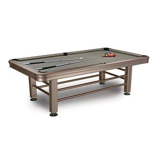 Imperial 8' Outdoor Pool Table with Accessories / 29-830 - Silver
