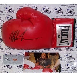 Mike Tyson Hand Signed Everlast Boxing Glove - PSA/DNA