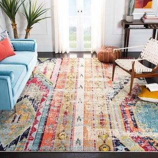Safavieh Madison Vintage Tribal Blue/Orange Rug