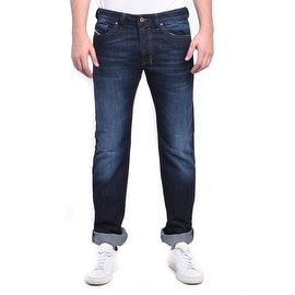 Diesel Safado Regular Slim-Straight Dark Blue Denim Jeans