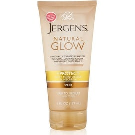 Jergens Natural Glow & Protect Daily Moisturizer SPF 20, Fair to Medium 6 oz