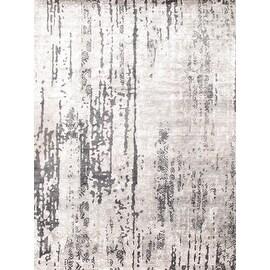 Grey Modern Bamboo Rug - 9' X 12' - By Pasargad NY Rug #D05468