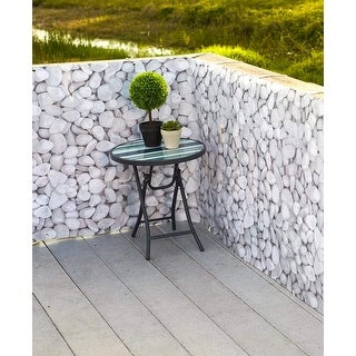 SkyMall 15ft. Pebble Design Deck and Fence Privacy Screen Netting