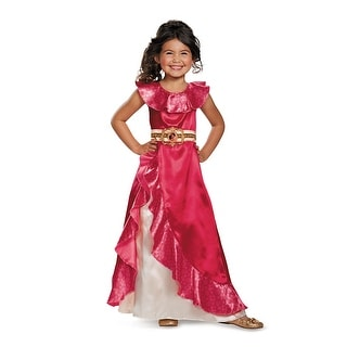 Girls Classic Elena Adventure Dress Princess Costume