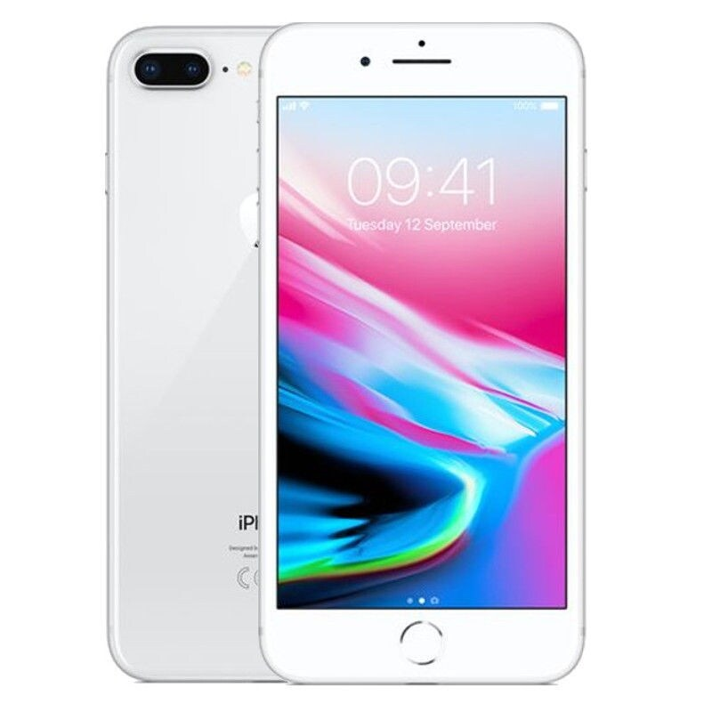 Apple iPhone 8 Plus 64gb Silver Unlocked Refurbished