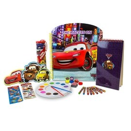 """Disney Cars Storybook Activity Collection """"The Race is On"""""""