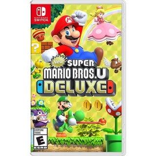 New Super Mario Bros. U Deluxe Standard Edition - Nintendo Switch - Black