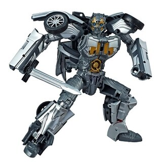 Transformers Toys Studio Series 39 Deluxe Class Transformers: The Last Knight Movie Cogman Action Figure - Ages 8 And