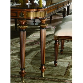 """Parisian Court Rectangle Dining Table with two 22"""" leaves"""