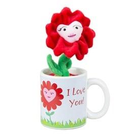 Russ Plush Potted Plant and Mug Set