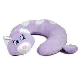 Animal Character Travel Neck Pillow, Kitten by Northpoint