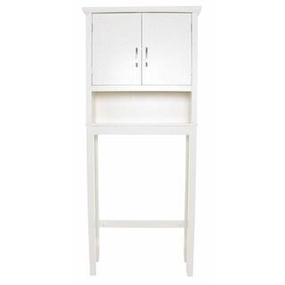 Zenvida Over Toilet Storage Cabinet Bathroom Organizer White