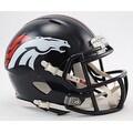 Denver Broncos Speed Riddell Mini Football Helmet