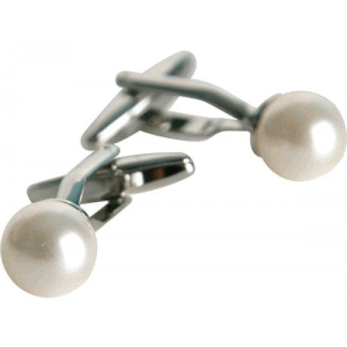 Pearl Cufflinks Womens