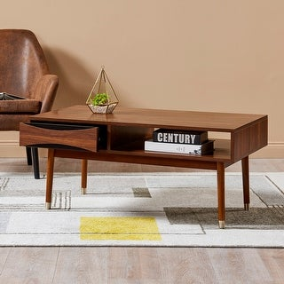 Versanora - Dawson Coffee Table - Walnut