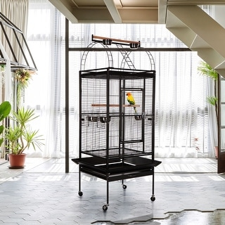 "VECELO Pet Products Park Plaza Bird Cage - 25""Lx24""Wx68""H"