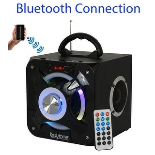 Boytone BT-32D Portable Bluetooth FM Radio Stereo speaker System, USB Port
