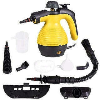 Costway Multifunction Portable Steamer Household Steam Cleaner 1050W W/Attachments