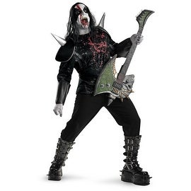 Metal Mayhem Plus Adult Costume