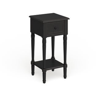 The Gray Barn Robert One Drawer Square Accent Table